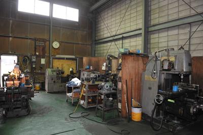 機械加工現場 抜き型 裁断機 刃型