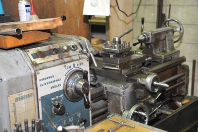 汎用旋盤1 抜き型 裁断機 刃型